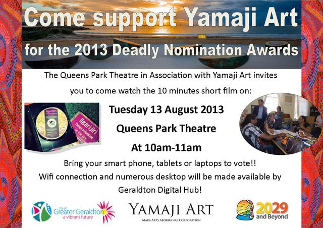 Deadley Awards Nomination Flyer