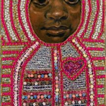 Icon to a Stolen Child - Badya (Wild) 2015 20 x45cm