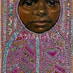 Icon to a Stolen Child -Bayadya (Brush) 2015 20 x45cm