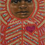 Icon to a Stolen Child - Wadyanda (Causing fire) 2015 20 x45cm