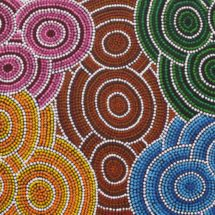 Colours of Our Country - Wendy Jackamarra