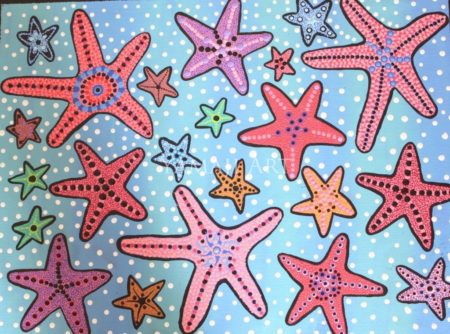 Sea Stars of the Ocean Floor - Andrea Green-Ugle