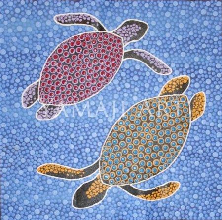 Sea Turtles - Andrea Green-Ugle