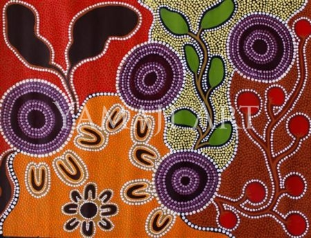 Margaret Whitehurst - Gathering Bush Tucker