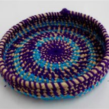 M Williams - Purple Woven Basket