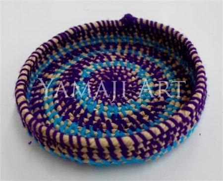 M Williams - Purple Woven Basket