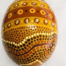 Ostrich Egg - Victor Little