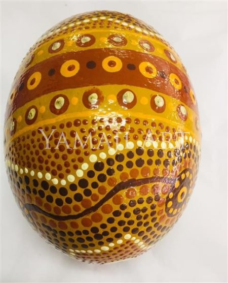 Ostrich Egg - Victor Little