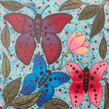Andrea Green-Ugle - Butterflies