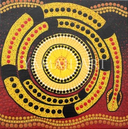 Andrea Green-Ugle - Guardian Serpent