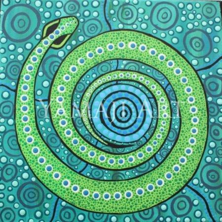 Andrea Green-Ugle - Sea Snake