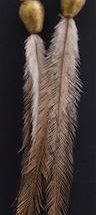 Roni Jones - Emu Feather Earrings