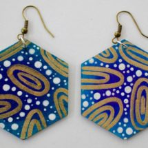 Circles of Gold Earrings - Lily-mae Kerley