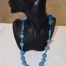 20:417 - Blue Quandong Necklace