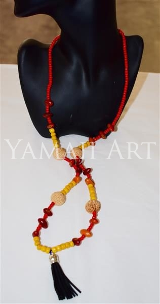 20:419 - Quandong Inti Seed Necklace