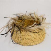 21:343 - Emu Feather Basket